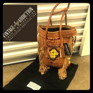 Vintage Addiction One of a Kind Tote. NWT